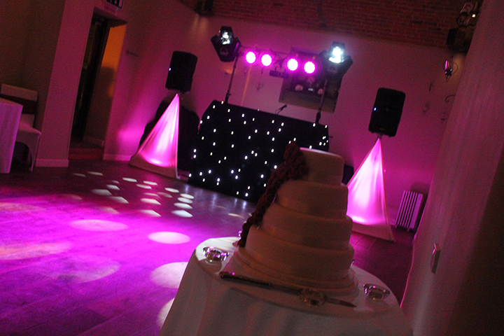 Package 2 Starcloth Wedding Setup at Dodmoor House 25.1.13