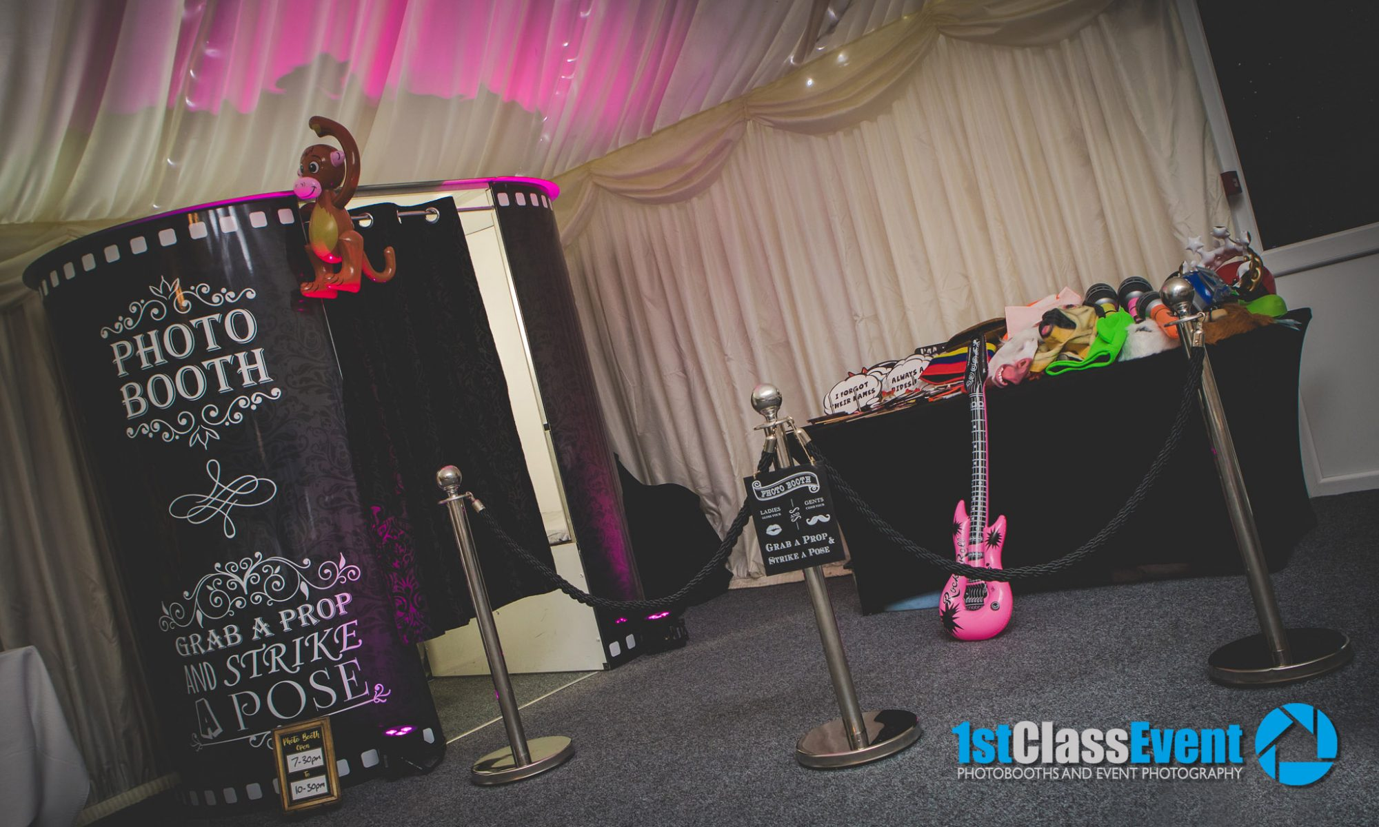 1st Class Event - Premium Quality Photobooths &  Event Photography