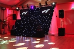 Package 4 Video Disco with star cloth booth and backdrops