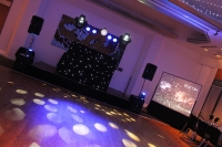 1st Class Event Entertainment Package 2 with Star Cloth Booth and Video Projection Setup for NYE 2012